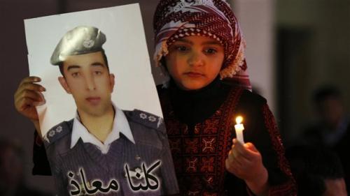 hommage,Maaz al-Kassasbeh,pilote,jordanien