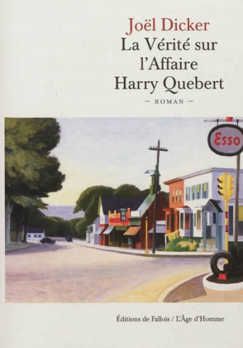 la vérité sur l'affaire harry quebert,joël dicker